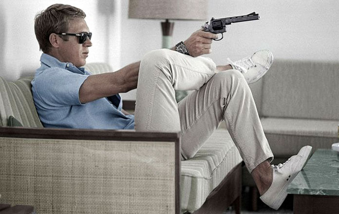 Steve McQueen style casual