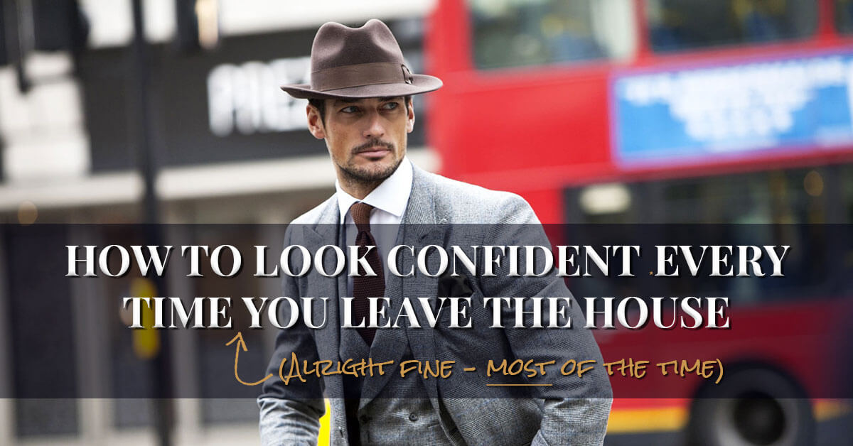 How to be a confident guy