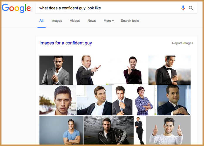 How to Look Confident Google Images