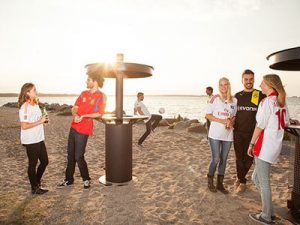 """I can't believe there's a Meetup for wearing soccer jerseys on the beach – and here I thought I was alone!"""