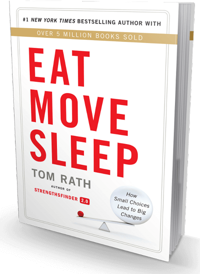Book Review Eat Move Sleep by Tom Rath