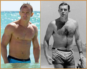 Fashion Advice for Young Men James Bond Bathing suit