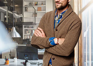 how-to-wear-a-mens-shawl-collar-sweater