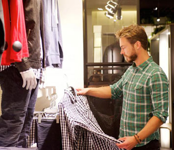 How to Shop for Men's Clothes