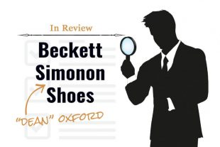 In Review: Beckett Simonon Dean Oxfords