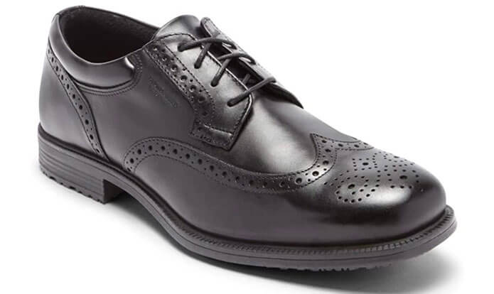 Rockport Men's Essential Details Waterproof Wingtip Oxford Shoe