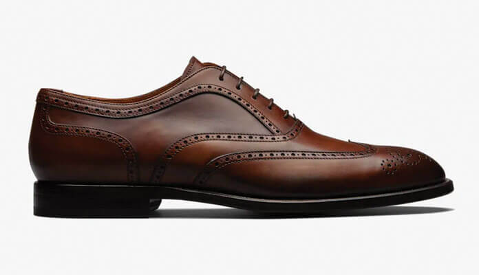 SuitSupply | Cognac Oxford Brogue