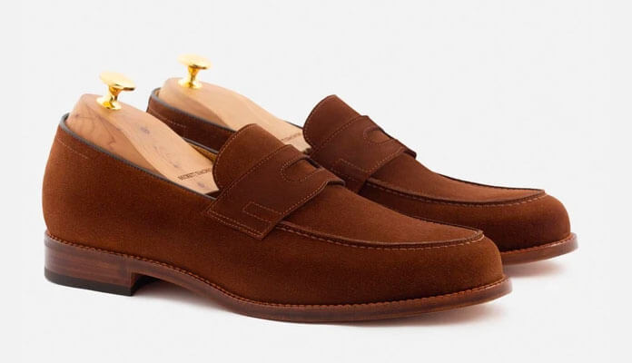 Beckett Simonon | Roy Loafer in Suede