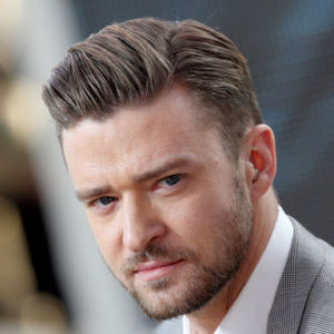 Justin Timberlake sporting a taper haircut