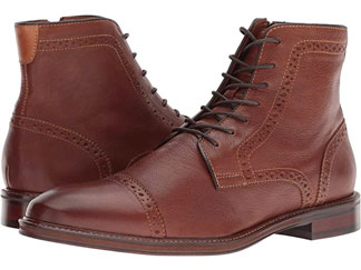 brown Johnston & Murphy boots