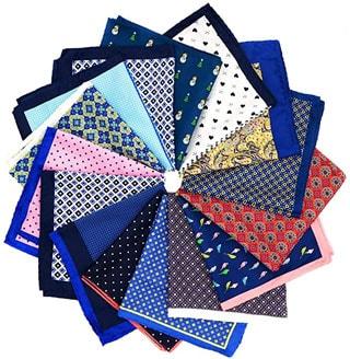 Circle of pocket squares