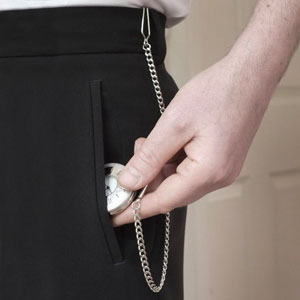 Image result for How To Wear a Pocket Watch Without a Waistcoat?