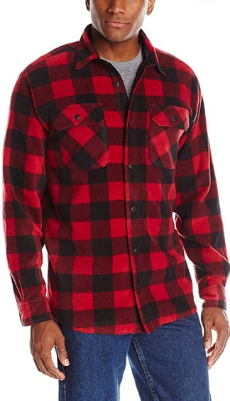 Wrangler red and black Buffalo plaid shirt