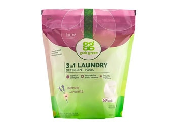 Grab Green Natural 3 in 1 Laundry Detergent Pods