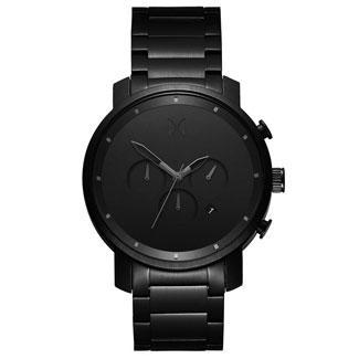MVMT Chrono Black Link watch