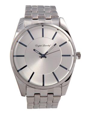 Silver English Laundry watch