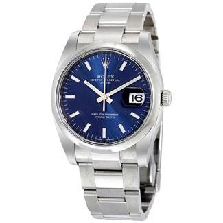Rolex Oyster Perpetual Date 34 Blue Dial