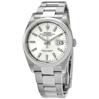 Rolex Datejust 36 Automatic Silver Dial
