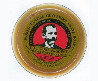 Colonel Conk shaving soap