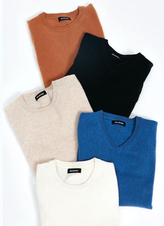 Various Naadam Cashmere Essential Sweaters