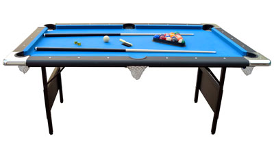 Fairmont 6.3' Foldable Pool Table