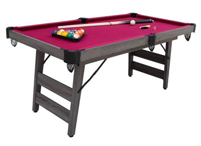 Hathaway 6-ft Pendleton Portable Pool Table