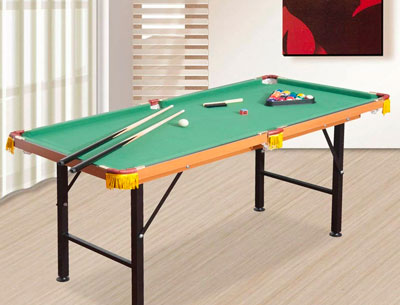 HomCom 2.1' Pool Table