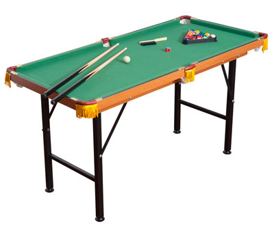 "Soozier 55"" Portable Folding Billiards Table"