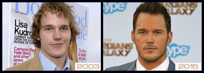 Chris Pratt eyebrows
