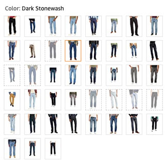 Levis 505 and 550 color options